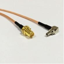 Адаптер (пигтейл) для модема CRC9/RP-SMA-female