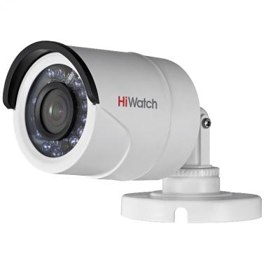 HiWatch DS-T200, уличная TVI видеокамера  (2.8мм, 1080p)